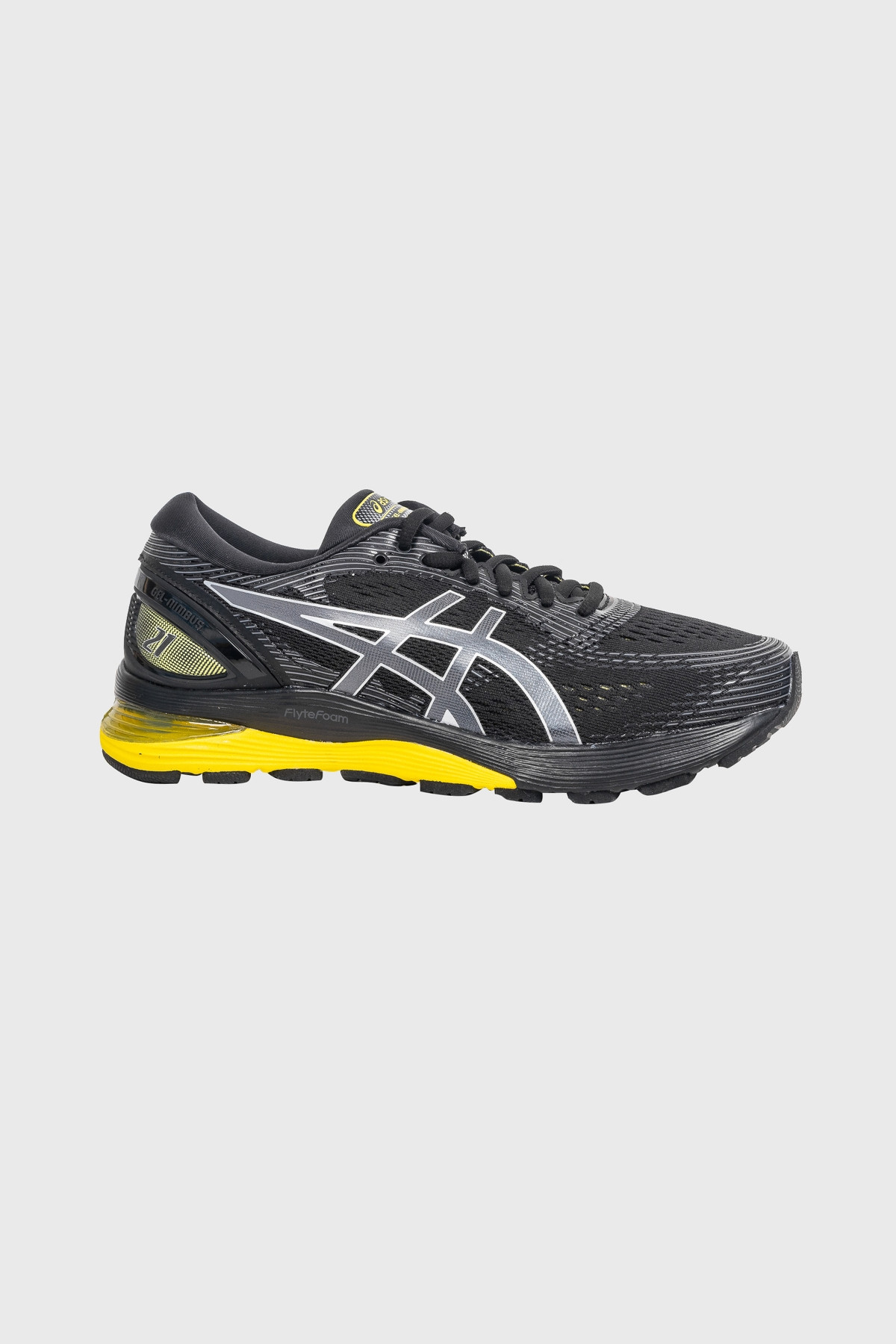 Asics - Gel Nimbus 21 - Black lemon spark