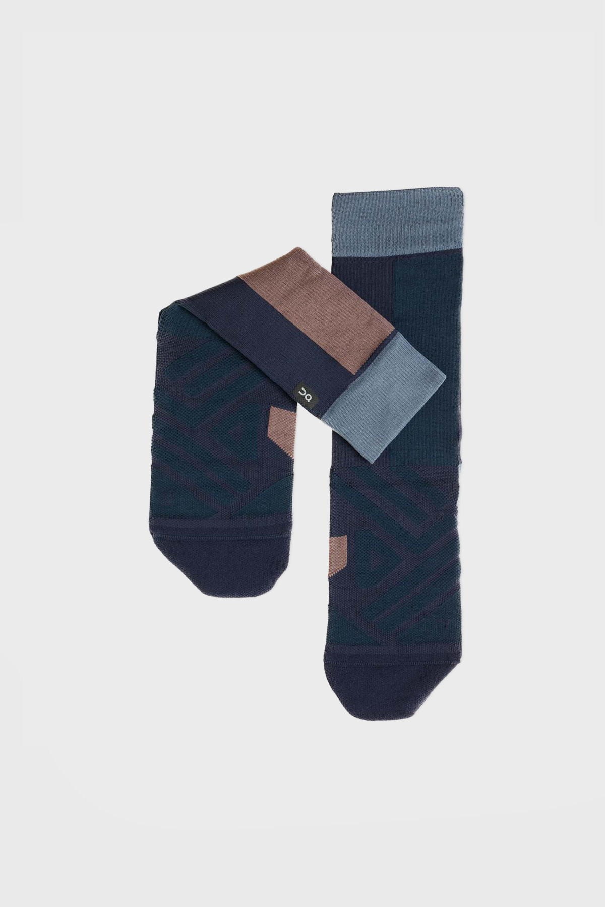 On - High Sock - Navy