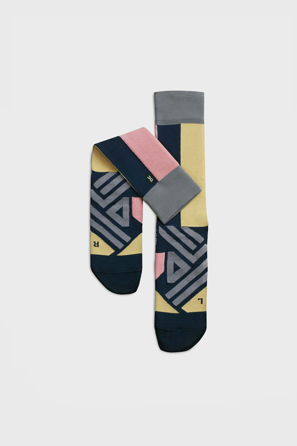 On - High Sock - Navy Dustrose