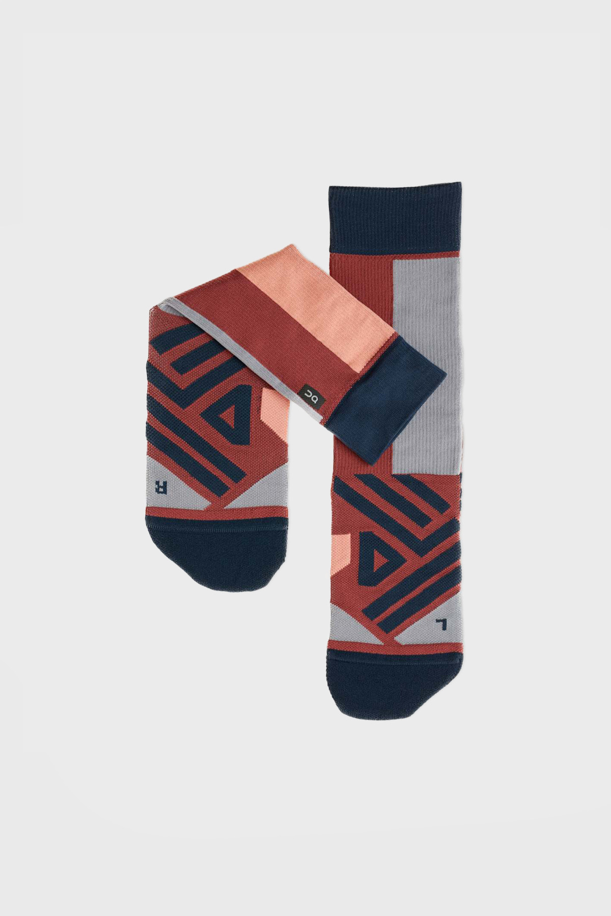On - High Sock - Ox Navy