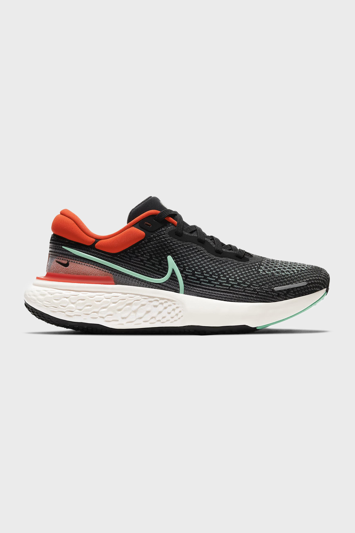 NIKE - Nike ZoomX Invincible Run Flyknit - BLACK RED GREEN