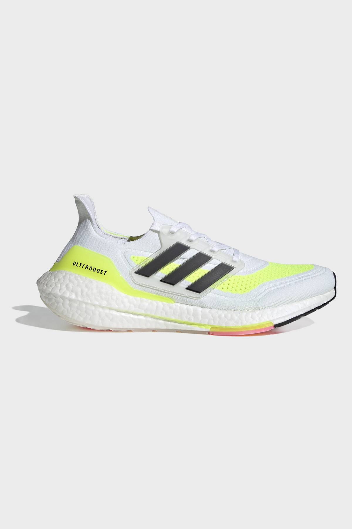 Adidas - Ultraboost 21 - Cloud White Solar Yellow