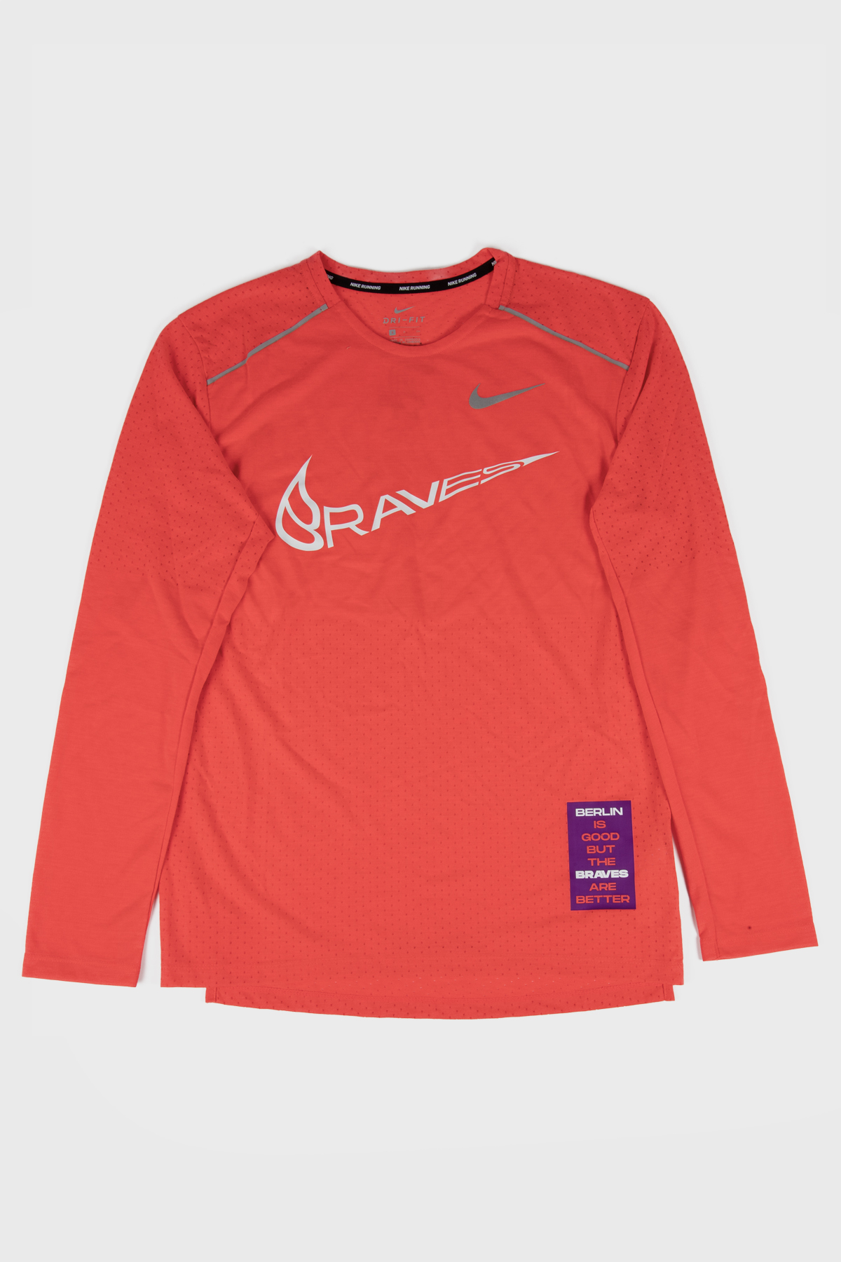 Berlin Braves - Nike Long Sleeve - Red