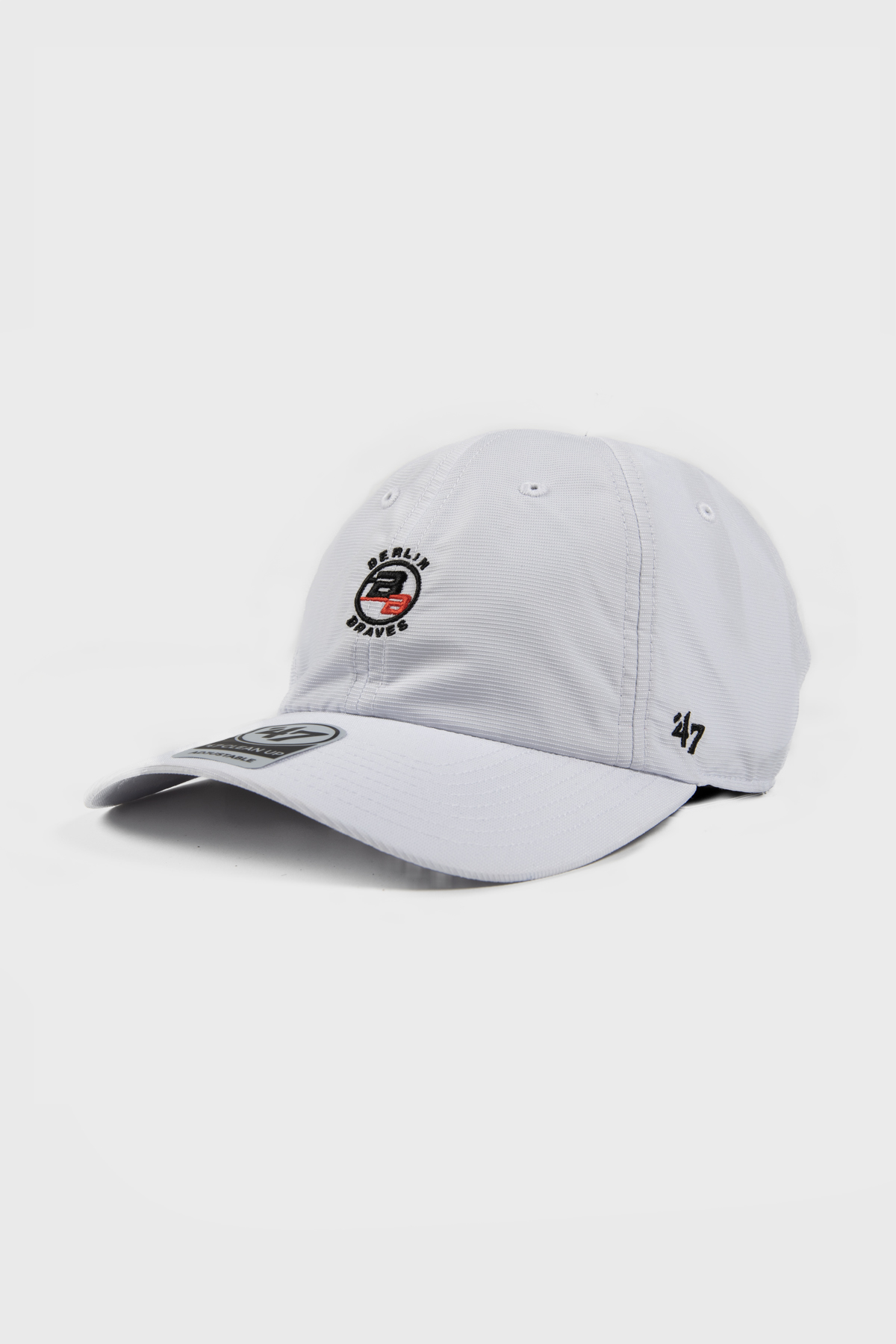 Berlin Braves - LIGHTWEIGHT RUNNERS HAT - White