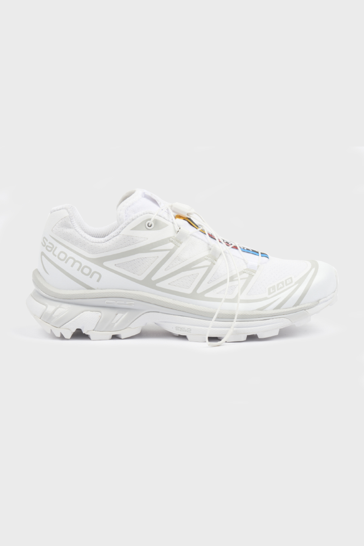 Salomon W - S/LAB XT-6 softground ADV LTD - White White Lunar Rock